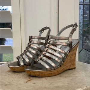 Guess Wedge Silver